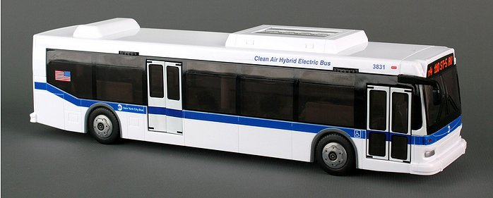 Orion 7 model bus