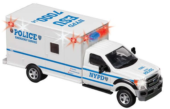 Manny S Diecast Collectibles Daron Nypd Nyc Bus And