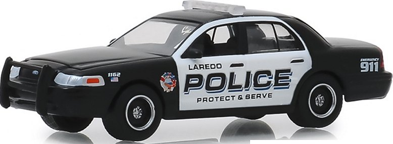 Greenlight 1:64 LOOSE 2010 FORD CROWN VICTORIA USPS Postal Police Interceptor